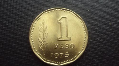Аргентина 1 песо.1975г.