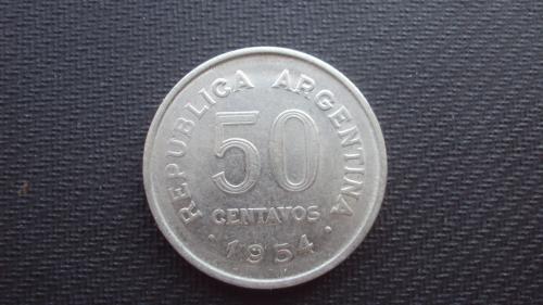 Аргентина 50 сент.1954г.