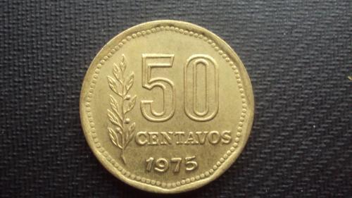 Аргентина 50 сент. 1975г.