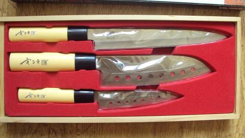 Набор ножей. Нержавейка. Новый.
