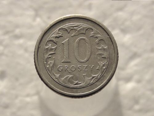 10 грошей Польша 1992 год (424)