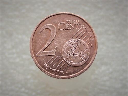 2 цента Пессак, Франция 2000 год (861)