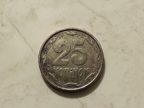 25 копеек Украина 1994 год 1ББм (628)