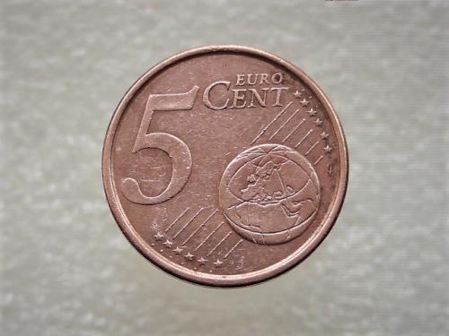 5 центов Мадрид, Испания 2005 год (863)