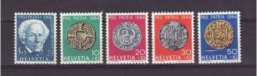 Швейцария № 795-799