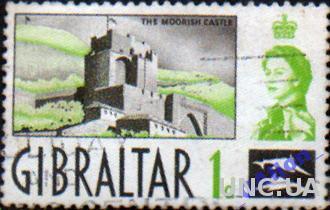 Гибралтар. Замок Муриш. 1d. 1960г