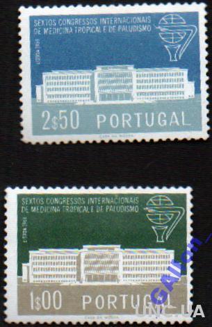 Португалия. 6 конгр. тропической меди (2 шт) 1958г