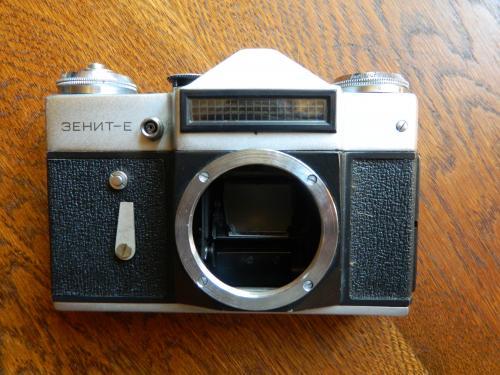 Фотоаппарат Зенит-Е тушка