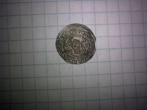 Коронний солід Сигізмунда ІІІ 1623р. м. Вільно