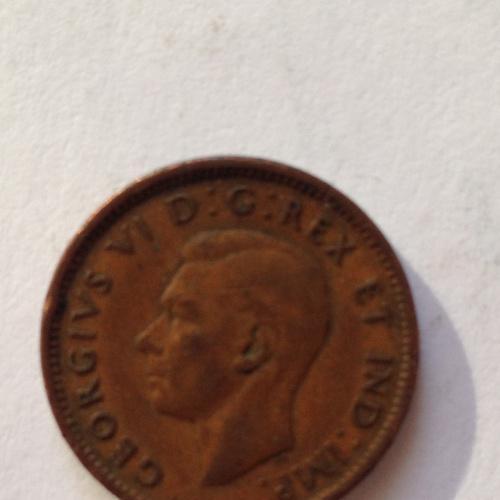 1 cent — Канада - 1943