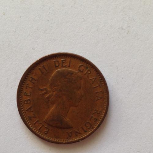 1 cent — Канада - 1957