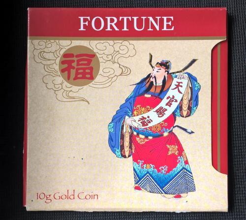 Золотая монета Фортуна (10г) Австралия