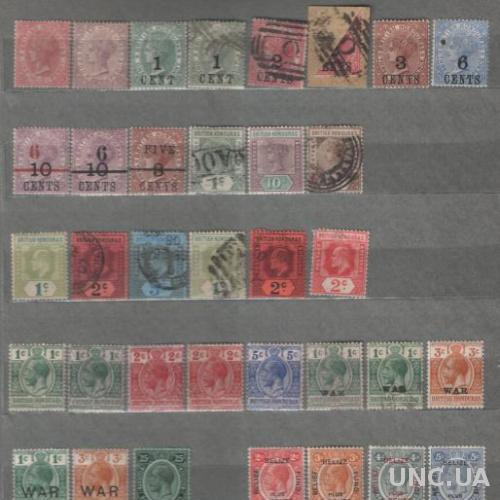 Англия. Британский Гондурас (1882-1932) - Подборка