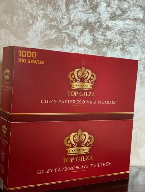 Гильзы для изготовления сигарет. Цена за пачку 500 шт