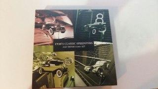 Набор серебряных монет 1930's classic speedsters