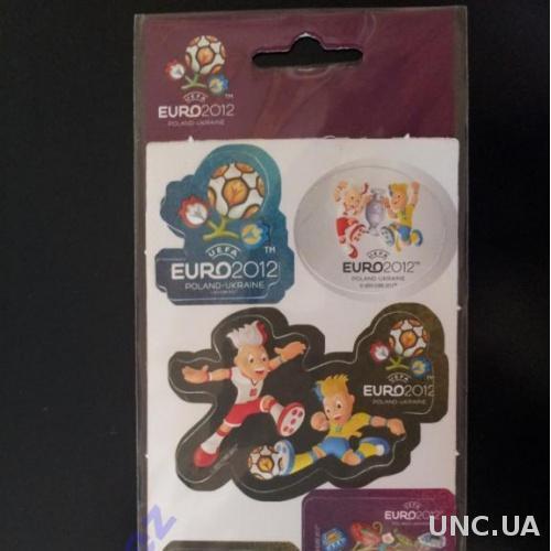 Styl наклейки Евро-2012 6 видов