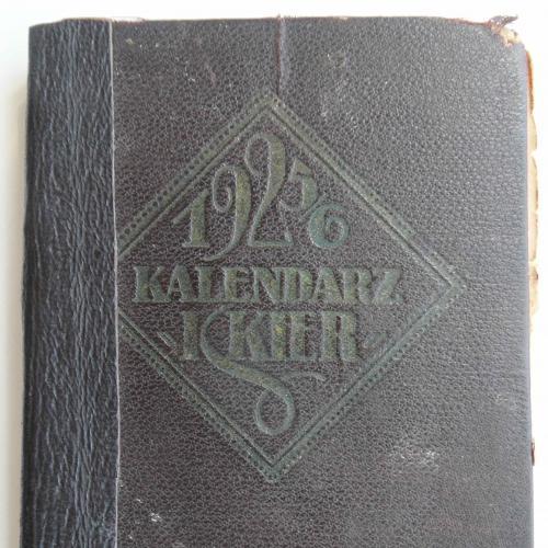 "Kalendarz ""Iskier"" na rok 1925-26."