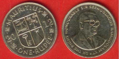 Маврикий, 1 рупия, 2012 г.