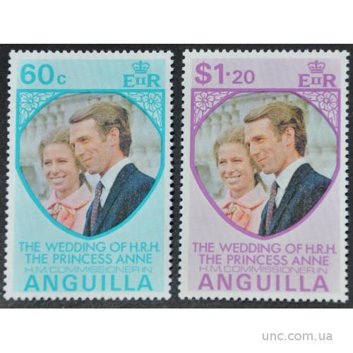 Ангилья Королевская свадьба