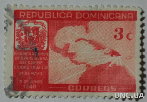 Доминикана карта