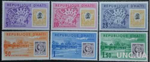 Гаити Марка на марке 1963
