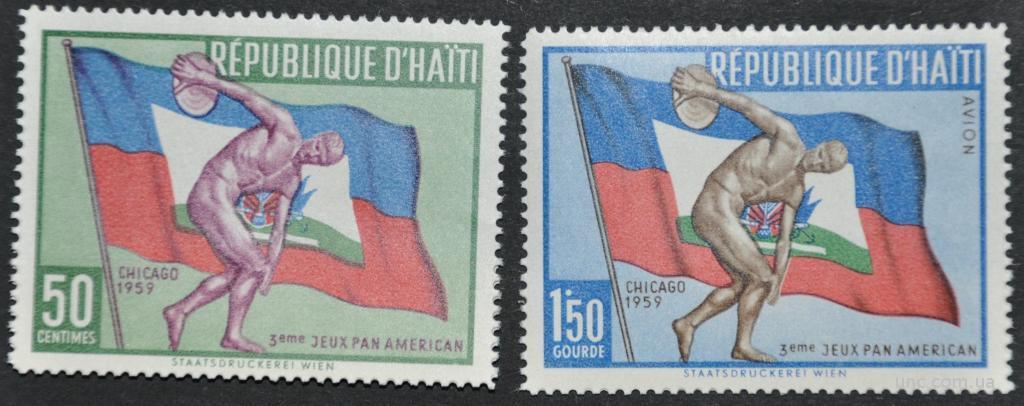 Гаити Спорт 1959