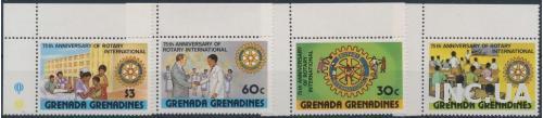 Гренада Гренадины Ротари 1980