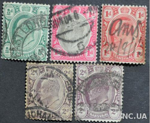Колонии Трансвааль 1902-1904