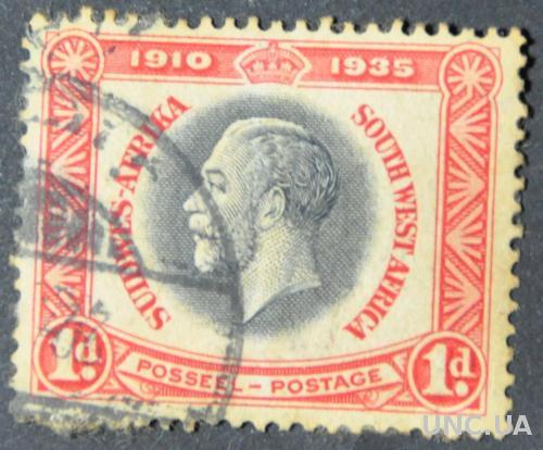 Колонии Юго-западная Африка 1935