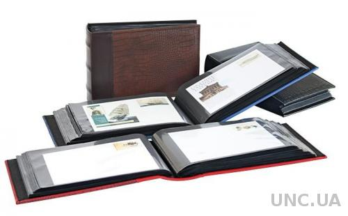 Lindner FIRMO 813 Альбом для 100 КПД Красный
