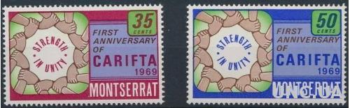 Монтсеррат Карибская ассоциация свободной торговли 1969