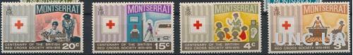 Монтсеррат Красный крест Медицина 1970