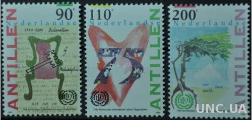 Нидерландские Антильские острова Организация труда 1994