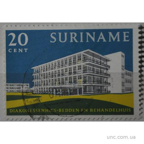 Суринам Архитектура