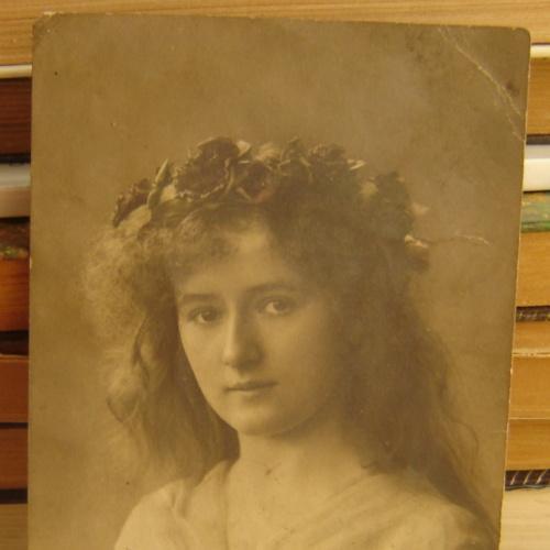 Фото девушки (до 1917 г.)
