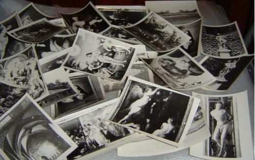 Куча оригинальных фото из Дрезденской художественной галереи. Примерно 1971-1973