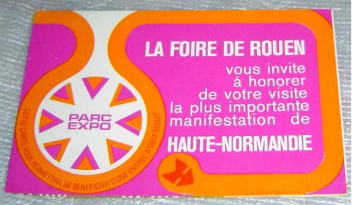 Нормандия (Франция). Буклет-карта