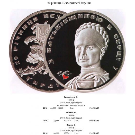 Пам'ятні монети з портретами політиків та інші новинки нумізматики