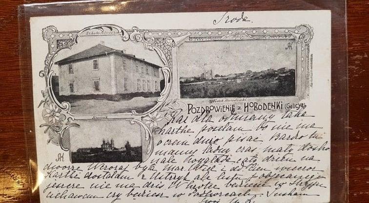 Олександр Каглян: «Перша поштівка з Городенки датується 1896 роком»