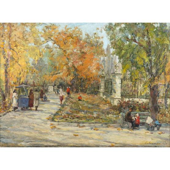 Итоги аукциона «Роскошь пленит, искусство привлекает»: живопись и декоративно-прикладное искусство