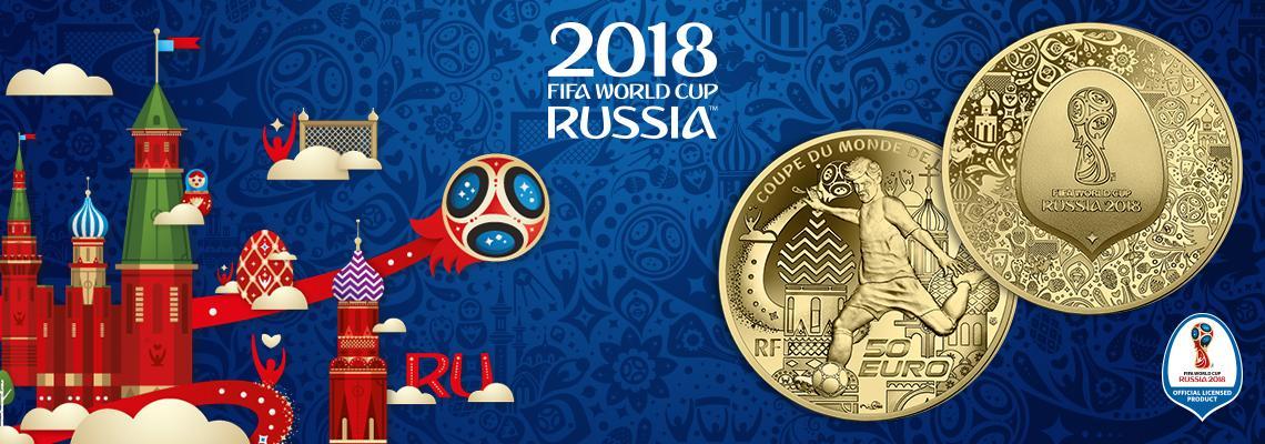 Нові монети Франція присвятила Чемпіонату світу з футболу