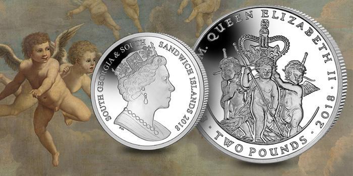 Отчеканена очередная монета в честь 65-летнего юбилея с момента коронации Ее Величества Елизаветы ІІ