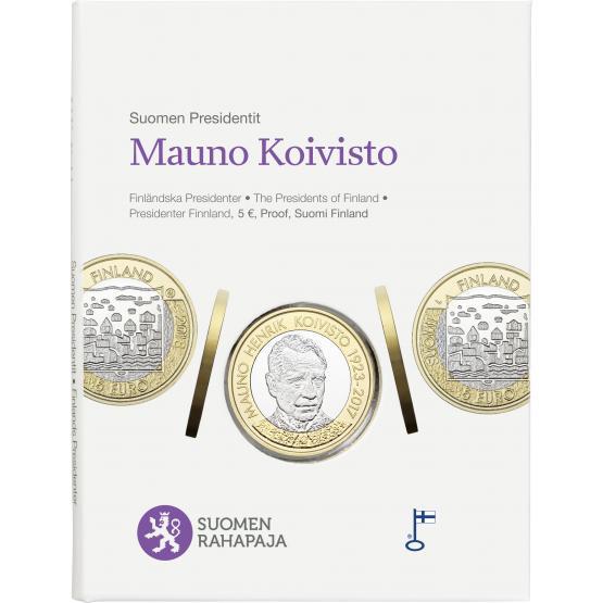 В Финляндии представили монету в честь президента Койвисто