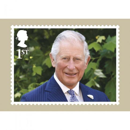 В Великобритании к 70-летнему юбилею принца Уэльского Чарльза выпустили специальную коллекцию марок