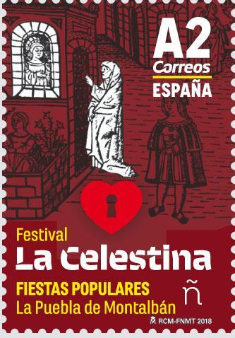 В Іспанії випущена марка на честь фестивалю Ла Селестина