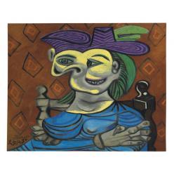 На Christie's выставили необычный портрет работы Пабло Пикассо