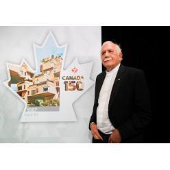 В Канаде выпустят новую почтовую марку к 150-летию Конфедерации