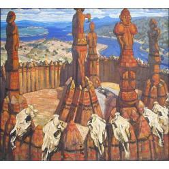 В Хорватском музее найдены ранее забытые картины Николая Рериха
