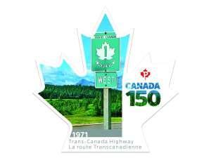 Еще одна почтовая марка дополнила серию, приуроченную к 150-летию Канады