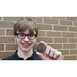 В Канаде мальчик нашел на пляже «екатерининский» пятак